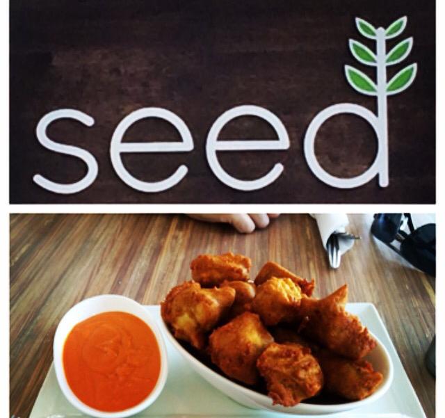 Seed Prytania Street 100% Vegan Deep Fried Southern Tofu Nuggets Buffalo Sauce